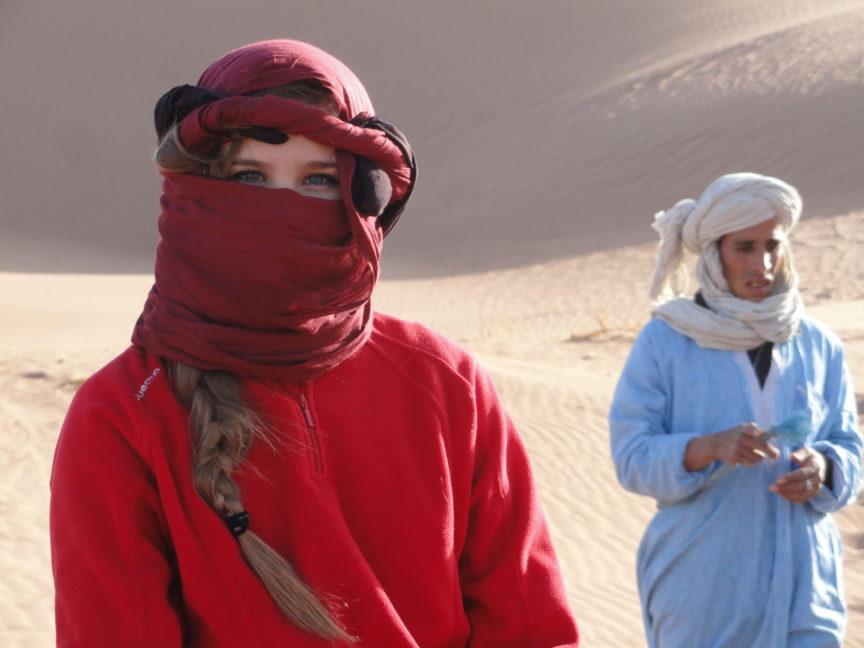 Desierto dromedarios