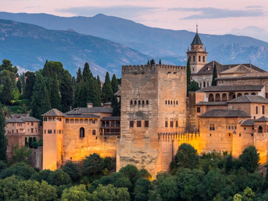 alhambra-granada-atardecer-españa