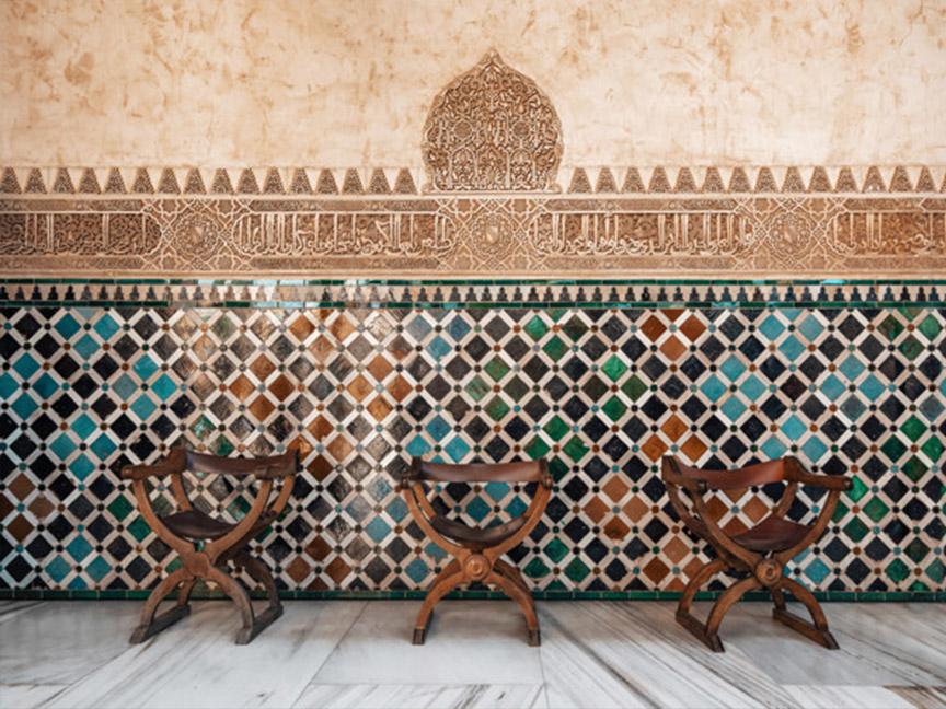 mosaico-arabe-sillas-alhambra-granada
