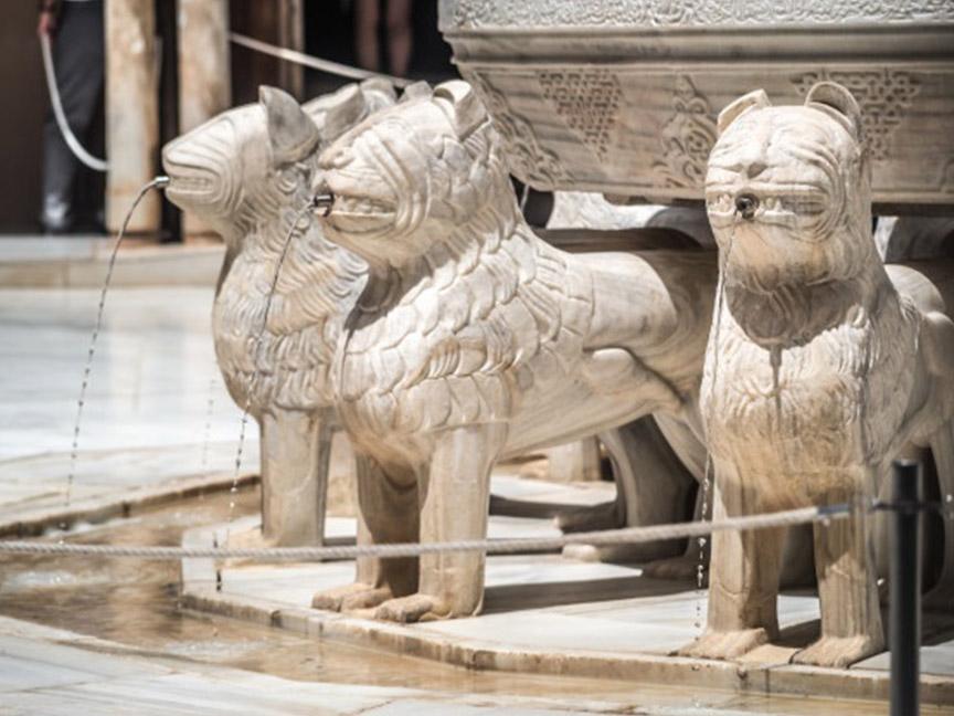 fuente de los leones granada alhambra